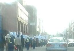 11 16中国大使館 領事館への全国一斉抗議行動 in 新潟 3